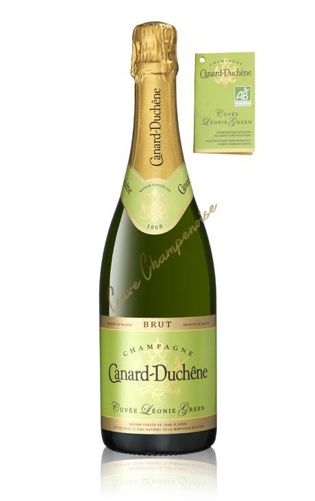 champagne canard duch ne cuv e l onie green bio 75cl. Black Bedroom Furniture Sets. Home Design Ideas