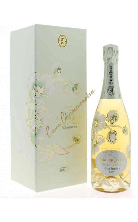 Champagne Perrier Jouet Belle Epoque 2007 (First edition) 75cl - gift box