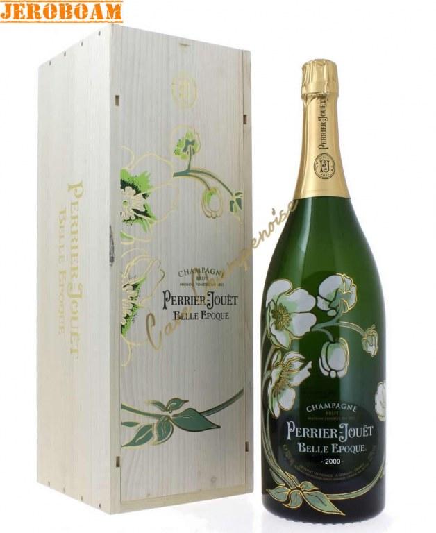 champagne perrier jouet belle epoque 2006 jeroboam 3l wood box. Black Bedroom Furniture Sets. Home Design Ideas