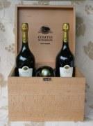 Champagne Taittinger Comtes de Champagne 2004 - casket 6 bottles