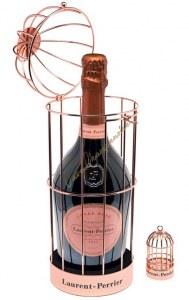 Champagne Laurent Perrier Cuvée Rosé 75cl - Box Golden Cage
