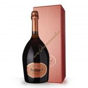 Champagne Ruinart Brut Rosé 75cl - casket