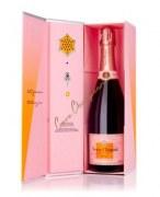 Champagne Veuve Clicquot Brut Rosé - Box Clicqu'all