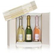 Champagne Deutz casket prestige 3 half-bottles 75cl