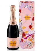 Champagne Veuve Clicquot Brut Rosé 75cl - casket Shakkei