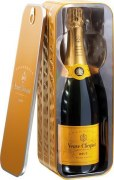 Champagne Veuve Clicquot casket Carte Jaune Ponsardine