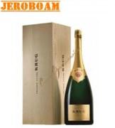 Champagne Krug Grande Cuvée Jeroboam 3l - wood case